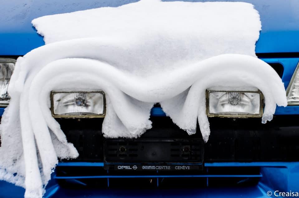 Premières neiges à Sainte-Croix…