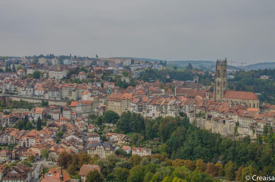 Fribourg et ses remparts…